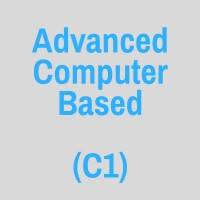 ADVANCED (C1) COMPUTER BASED